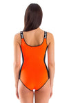 Signature Round Neck One Piece Swimsuit