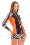 Vibrant Stripes 1 MM Jacket