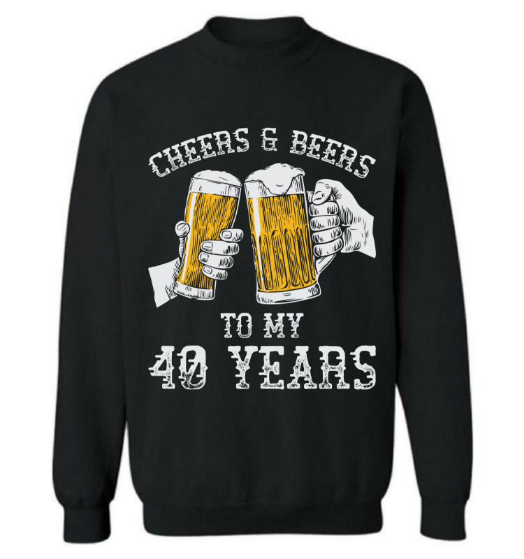 Cheers & Beers To My 40 Years
