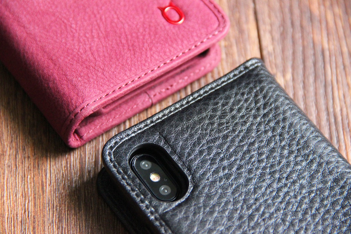 More. Leather Wallet01_iPhone X Italian Leather Case