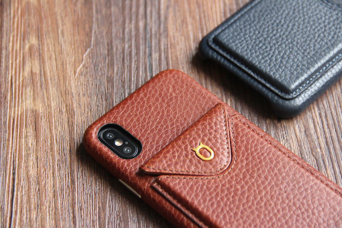 Cover n Go_iPhone XS Italian Leather Case