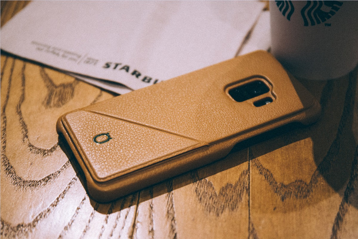 Hide n Go_Samsung S9 Italian Leather Case