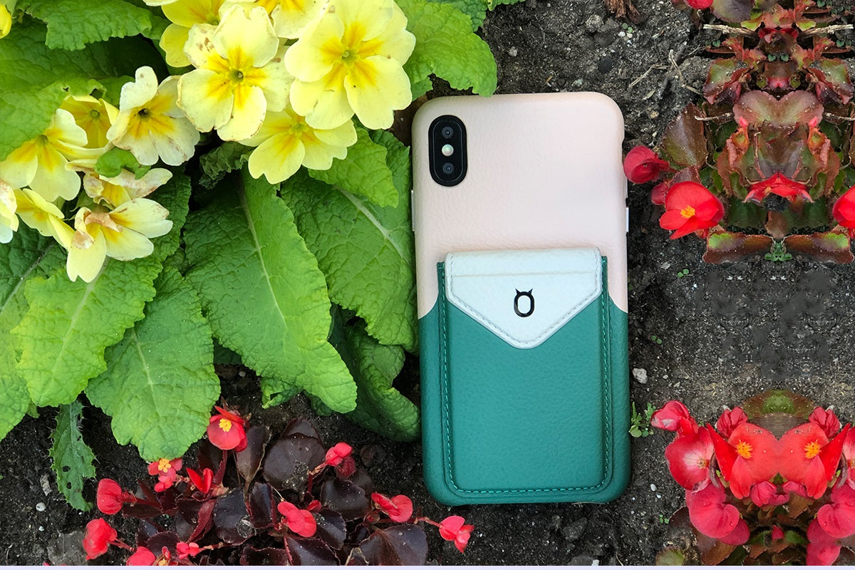 Cover & Go FX _ iPhone X Italian Leather Case