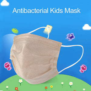 Kids Mask, Microcrystalline Titanium Silver Antibacterial Efficient Children Face Mask, Unique Medical Antibacterial Technology, Repeated Use
