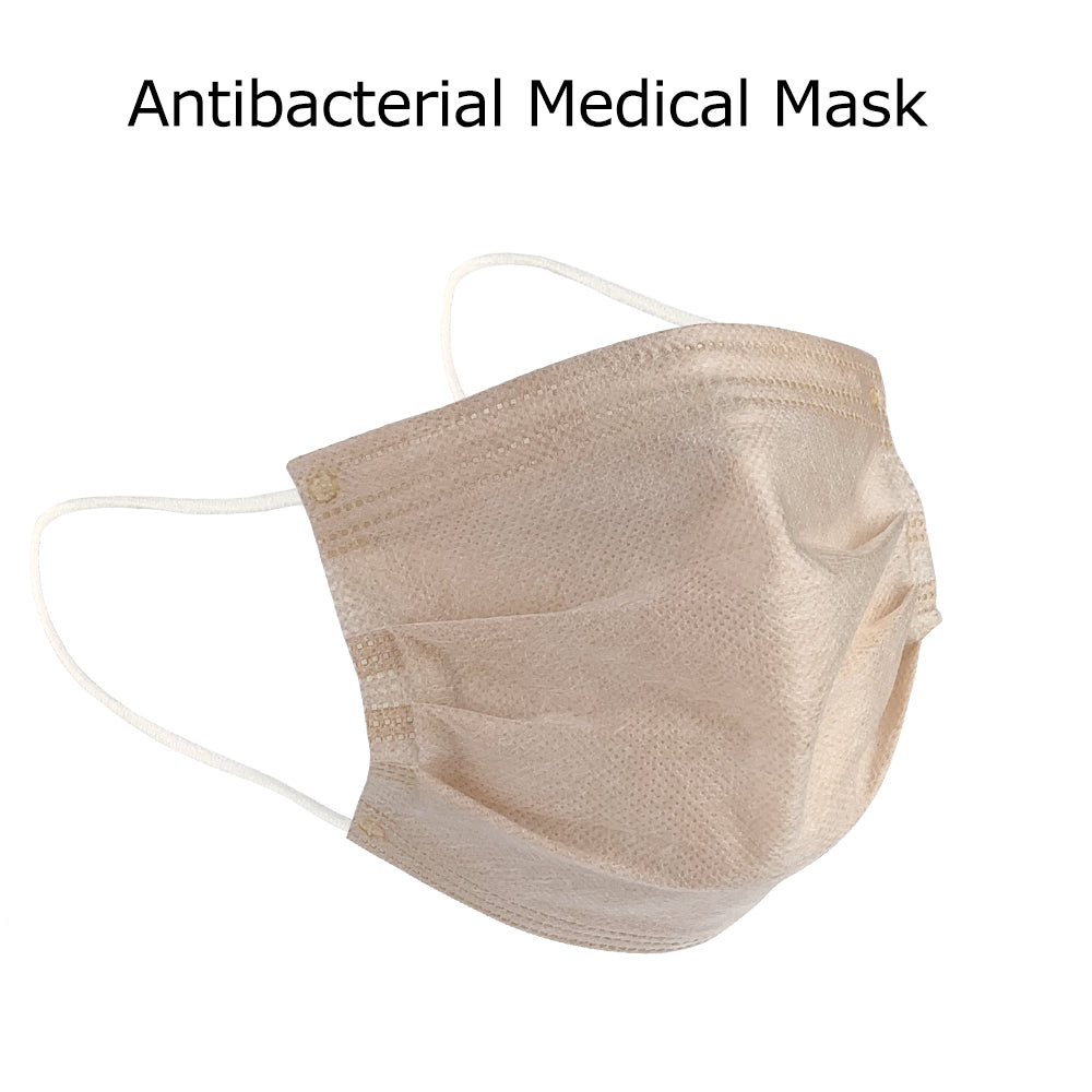 Microcrystalline Titanium Silver Antibacterial Efficient Face Mask, Unique Medical Antibacterial Technology, Repeated Use