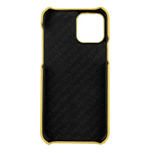 Load image into Gallery viewer, Ostrich Leather iPhone 12 Pro Max Case _ Unique - Yellow