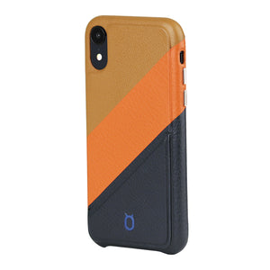 Hide n Go_iPhone Mix N Match Case_iPhone XR Italian Leather Case - iToro