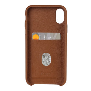 Italy Leather All Wrapped Case_Cubic_iPhone XS Italian Leather Case - iToro