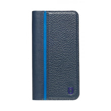 Load image into Gallery viewer, Folio n Go_iPhone 7 / 8 Italian Leather Case - Sapphire Blue