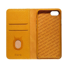 Load image into Gallery viewer, Folio n Go_iPhone 7 / 8 Italian Leather Case - Camel Brown