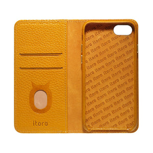 Folio n Go_iPhone 7 / 8 Italian Leather Case - Camel Brown