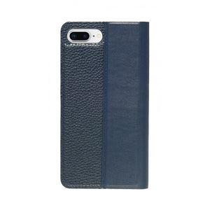 Folio n Go_iPhone 7 / 8 Plus Italian Leather Case - Sapphire Blue