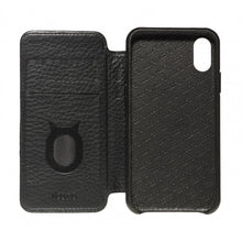 Load image into Gallery viewer, Soft Touch Leather Folio_iPhone XS Italian Leather Case - iToro