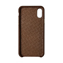 Load image into Gallery viewer, Cover n Go_iPhone XS Italian Leather Case - Chestnut Brown
