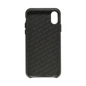 Cover n Go_iPhone X Italian Leather Case - Leather Black