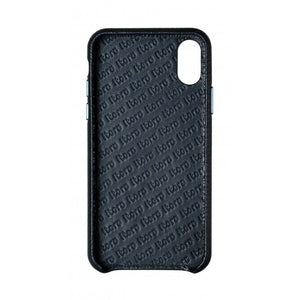 Cover n Go_iPhone XS Italian Leather Case - Sapphire Blue