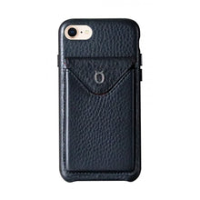 Load image into Gallery viewer, Cover n Go_ iPhone 7 / 8 Italian Leather Case - Leather Black