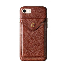 Load image into Gallery viewer, Cover n Go_ iPhone 7 / 8 Italian Leather Case - Chestnut Brown