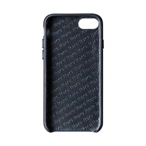 Cover n Go_ iPhone 7 / 8 Italian Leather Case - Leather Black