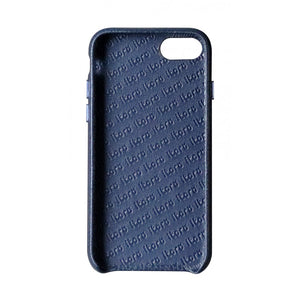 Cover n Go_ iPhone 7 / 8 Italian Leather Case - Sapphire Blue