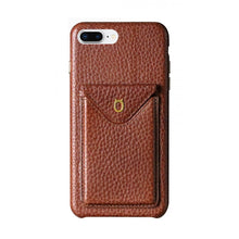 Load image into Gallery viewer, Cover n Go_iPhone 7 / 8 Plus Italian Leather Case - Chestnut Brown