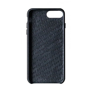 Cover n Go_iPhone 7 / 8 Plus Italian Leather Case - Leather Black