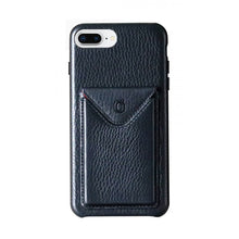 Load image into Gallery viewer, Cover n Go_iPhone 7 / 8 Plus Italian Leather Case - Leather Black
