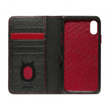 Load image into Gallery viewer, More. Leather Wallet01_iPhone XS MAX Italian Leather Case - iToro