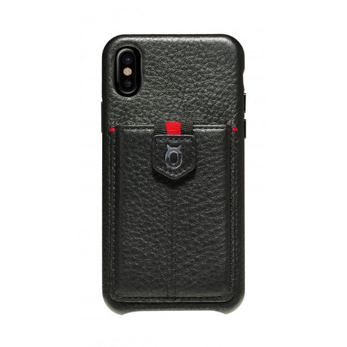 Strap n Go_iPhone X Italian Leather Case - iToro