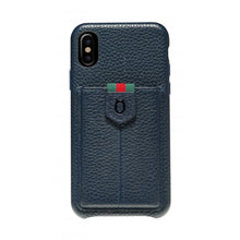 Load image into Gallery viewer, Strap n Go_iPhone XS Italian Leather Case - iToro