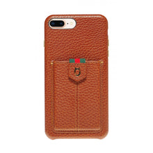 Load image into Gallery viewer, Strap n Go_iPhone 7 / 8 Plus Italian Leather Case - iToro