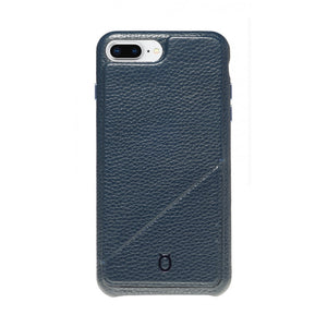 Hide n Go_ iPhone 7 / 8 Plus Italian Leather Case - Sapphire Blue