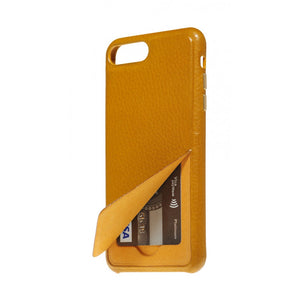 Hide n Go_ iPhone 7 / 8 Plus Italian Leather Case - Camel Brown
