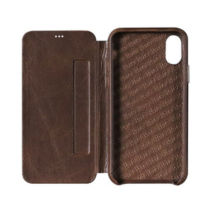 ITALY Leather Folio_iPhone XS Italian Leather Case - iToro