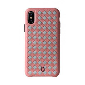 ITALY Leather Weaved Case 2T_iPhone XS Italian Leather Case - iToro