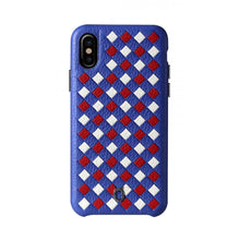 Load image into Gallery viewer, ITALY Leather Weaved Case 3T_iPhone X Italian Leather Case - iToro