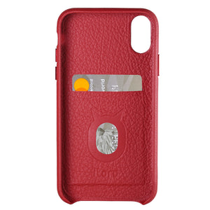 Italy Leather All Wrapped Case_Cubic_iPhone X Italian Leather Case - iToro