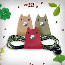 Load image into Gallery viewer, Doggy Genuine Leather Cable Holder Straps - Doggy Combo1