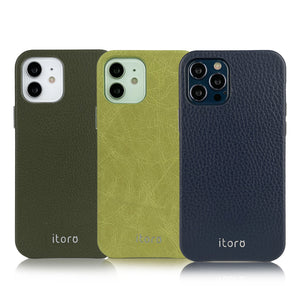 iPhone 12 | 12 Pro Leather Case_ITALY Leather