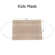 Load image into Gallery viewer, Kids Mask, Microcrystalline Titanium Silver Antibacterial Efficient Children Face Mask, Unique Medical Antibacterial Technology, Repeated Use