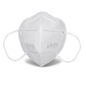 KN95 Face Mask, Disposable 5-Layer Breathing Masks, Great for Virus Protection, Earloop 5-Ply KN95 Face Mask