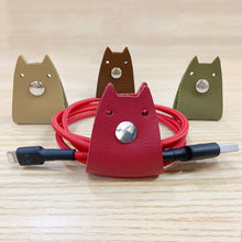 Load image into Gallery viewer, Doggy Genuine Leather Cable Holder Straps - Doggy Combo2