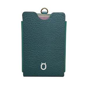 iToro Card Italian Leather Case - Green
