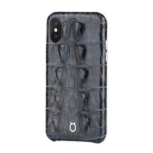 Load image into Gallery viewer, Limited Edition Black Crocodile iPhone 11 Pro Case - Croc Tail