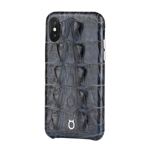 Limited Edition Black Crocodile iPhone 11 Pro Case - Croc Tail