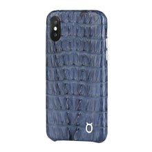 Load image into Gallery viewer, Limited Edition Deep Blue Crocodile iPhone 11 Pro Max Case - Croc Tail