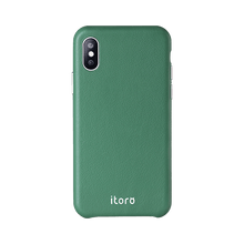 Load image into Gallery viewer, ITALY Leather All Wrapped Case iPhone 11 - Green