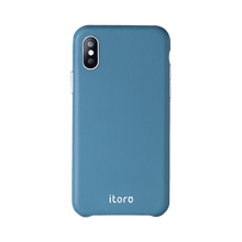 Load image into Gallery viewer, ITALY Leather All Wrapped Case iPhone 11 Pro Max - Blue