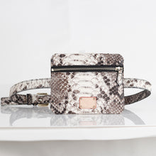 Load image into Gallery viewer, Limited Edition Genuine Python Skin Waist Bag / Diagonal Bag