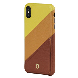 Hide n Go_iPhone Mix N Match Case_iPhone X Italian Leather Case - iToro